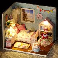 智趣屋diy小屋拼装模型手工小屋女孩小小房生日礼物创意女生礼物