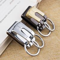 男士腰挂钥匙扣穿腰带穿皮带创意汽车钥匙链挂件钥匙圈环