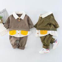 婴儿套装休闲卫衣宝宝运动儿童两件套