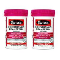 澳大利亚Swisse高浓度蔓越莓胶囊30粒【2瓶装】