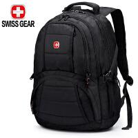 【防雨罩】SWISSGEAR瑞士军刀双肩电脑包 男女防泼水15.6英寸商务背包旅行双肩背包