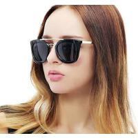 户外新款偏光复古墨镜女潮 休闲百搭欧美大框太阳眼镜明星款女士驾驶镜