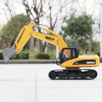 电动挖土机无线工程车钩机儿童挖机遥控挖掘机玩具车