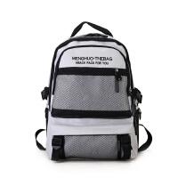 2018新款书包女韩版原宿ulzzang 高中学生双肩包港风潮多层大容量旅行背包