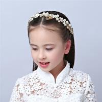 儿童头饰公主发饰儿童演出头饰发箍女童头饰花朵头箍