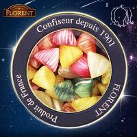 法国进口费罗伦florent双子座星座糖250g 什锦糖果水果味硬糖 进口休闲零食儿童宝宝零食水果硬糖果生日礼物