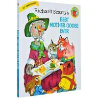 英文原版 Richard Scarry's Best Mother Goose Ever 斯凯瑞 我喜欢的鹅妈妈童谣 理