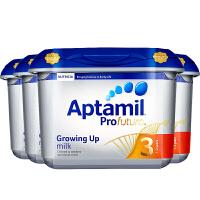 【3段白金】英国直邮/保税区 Aptamil爱他美 英爱白金婴幼儿奶粉 三段(1岁以上) 800g*4罐 海外购