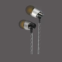 入耳式有线耳机 震撼重低音 线控带麦 金属外壳 通用耳机