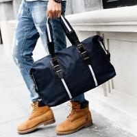 旅行包手提型 2018新款时尚男士户外出差短途旅行包 潮流手提男包单肩斜跨包大 中