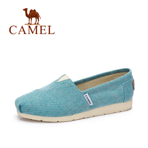 Camel/骆驼女鞋 春夏新款 韩版时尚帆布鞋 时尚休闲单鞋女