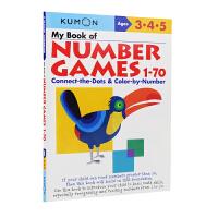 Kumon Math Skills My Book of Number Games 1-70 公文式教育 幼儿园3-5