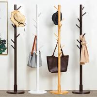 淘之良品实木衣帽架衣架落地卧室挂衣架立式衣服架子现代简约多层室内收纳架