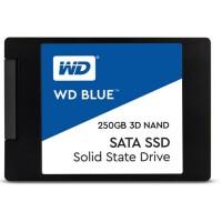 WD西部数据 Blue系列 3D版 250G 固态硬盘SSD WDS250G2B0A 7MM SATA3 蓝盘