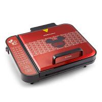 荣事达 迪士尼电饼铛双面加热家用煎烤机深烤盘DSN-BC01