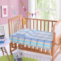御目 儿童凉席 可折叠手工纯棉老粗布婴幼儿凉席加厚幼儿园儿童床床单枕头全棉席子可机洗家居床上用品儿童床品