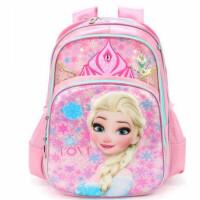 迪士尼冰雪奇缘学生书包 20328小女孩双肩包 创意爱莎公主背包