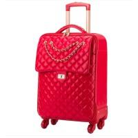 红色行李箱结婚箱子陪嫁箱皮箱拉杆箱女婚箱嫁妆箱新娘旅行箱
