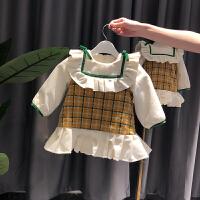 宝宝连衣裙女小童洋气裙子秋冬女童裙婴幼儿公主裙