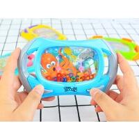 儿童益智玩具水中套圈游戏机童年回忆90后怀旧玩具
