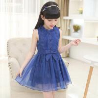 童装女童连衣裙  中大童儿童公主裙小女孩裙子礼服