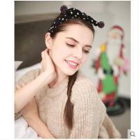 韩国发箍波韩版发窟女成人点头箍可爱蝴蝶结头饰儿童宽边发卡发夹可礼品卡支付