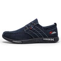 老北京布鞋新款父亲鞋子男透气帆布鞋男士休闲运动鞋耐磨防滑 39 偏小一码 A16单鞋黑色 收藏送袜子