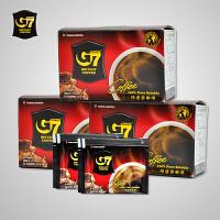 G7咖啡 越南进口中原g7纯黑咖啡粉 速溶醇品咖啡 30gX3盒(45条)