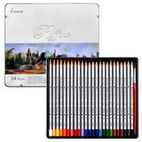 马可(Marco)7120-36TN Raffine系列 水溶性36色彩色铅笔/填色笔/彩铅 铁盒装