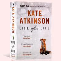 英文原版小说Life After Life Kate Atkinson 生命不息重生Black Swan 科斯塔奖经典