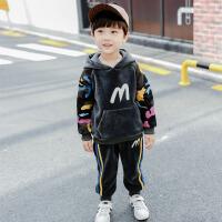 男童秋冬装套装男宝宝小男孩衣服