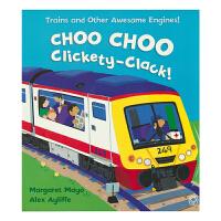 Choo Choo Clickety-Clack 火车快跑 科普英语故事绘本 儿童英文原版进口图书