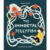 【现货】英文原版 灯塔水母The Immortal Jellyfish 5-7岁适读 苗桑插画 精装绘本 画风温馨可爱