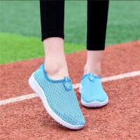 夏季老北京布鞋女网鞋网布透气运动休闲鞋软底防滑网面女鞋学生鞋