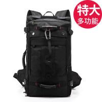 2018新款双肩包男旅行大容量行李背包户外登山包多功能手提休闲出差旅游包
