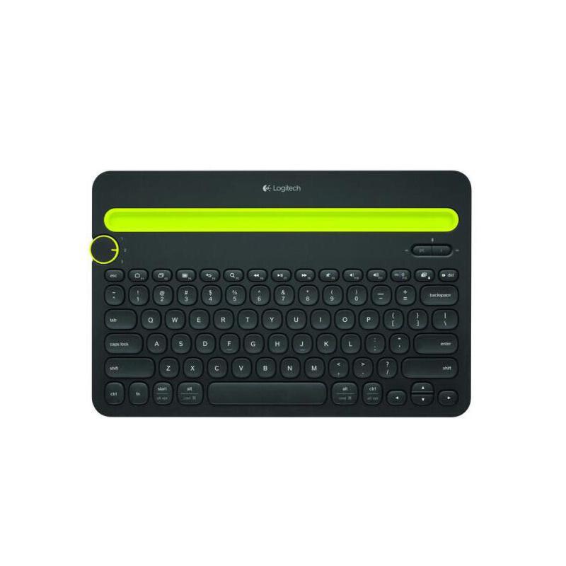 罗技(Logitech)K480 多设备蓝牙键盘 平板电脑键盘 手机键盘 黑色