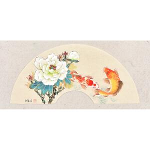 中国书画研究会会员 唐晓静63 X 30CM花鸟画 gh05243