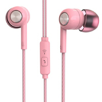 K8耳机 入耳式小米苹果华为荣耀oppo魅族vivo手机通用女生耳塞 oppor9华为vivo小米重低音手机耳机入耳式