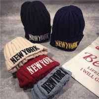 潮男秋冬帽子围脖两件套韩版保暖棒球帽护耳针织帽加绒加厚毛线帽