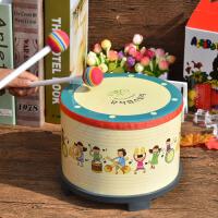 奥尔夫乐器鼓打击乐器宝宝鼓婴儿卡通地鼓儿童小鼓打鼓玩具鼓