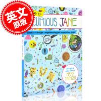 现货 好奇巧手少女简 英文原版 More Curious Jane