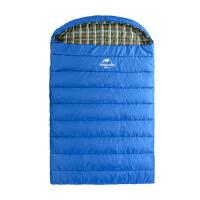 户外睡袋成人一体式双人三人睡袋家庭露营自驾旅行旅游棉睡袋
