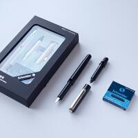 德国施耐德钢笔Schneider办公学生用BK400书写练字墨水钢笔0.5mm