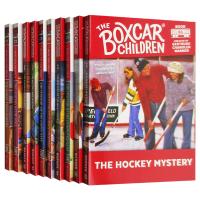 英文原版 棚车少年71-80册套装 The Boxcar Children Mysteries Books 进口英语章节