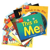 【PYP Readers L1】培生教育IB国际小学 儿童英语分级阅读读物12册 PreK Pearson Baccalaureate 送音频 英文原版 培生幼儿启蒙英语
