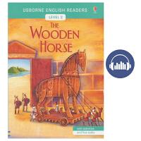Usborne English Readers Level 2 The Wooden Horse 英语小读者系列 木马