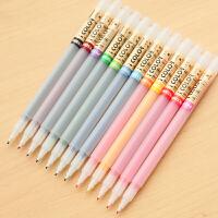 文匠墨语点石PK5000纤维笔棕色韩版彩色创意水性笔勾线水彩笔12色