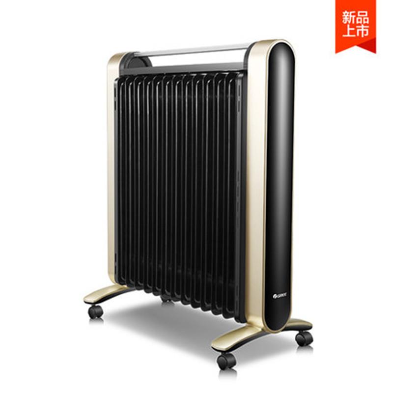 格力(GREE)取暖器 油汀 NDY16-X6126Ba 2600W 13片 家用 触屏遥控 WIFI 定时 电暖器片 触屏遥控 WIFI功能 12小时定时预约