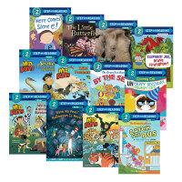 美国企鹅兰登英语分级绘本 第二阶段22册 Step into Reading 2 书屋系列经典读物 英文原版绘本 小学儿