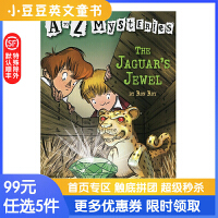 进口英文原版The Jaguar's Jewel A to Z 神秘案件 #10 遗失的宝石 6-1